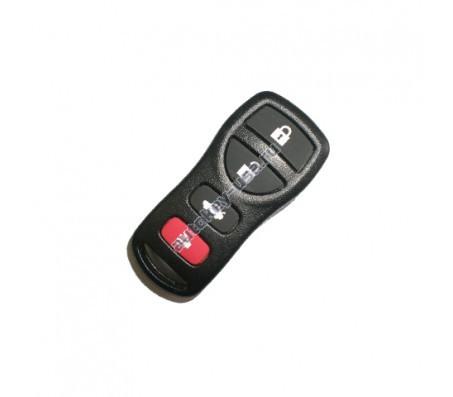 Nissan(Ниссан) брелок дистанционного управления (3 кнопки+panic). Для автомобилей из США. Номер::FCC ID::KBRASTU15