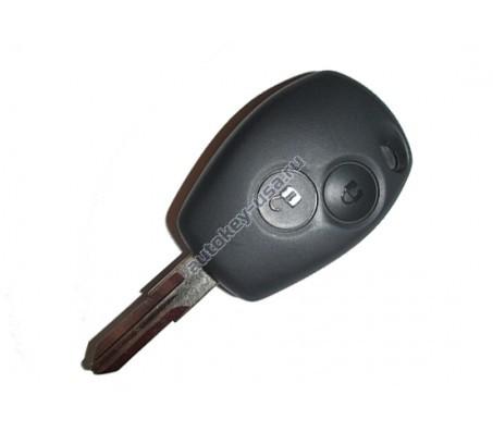 Nissan(Ниссан) ключ 2 кнопки ( чип 7939AEX )