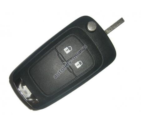 Opel(Опель) выкидной ключ с дистанционным управлением (2 кнопки). Модели:: Insignia, Astra J