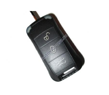 Porsche(Порше) корпус дистанционного ключа 3 кнопки