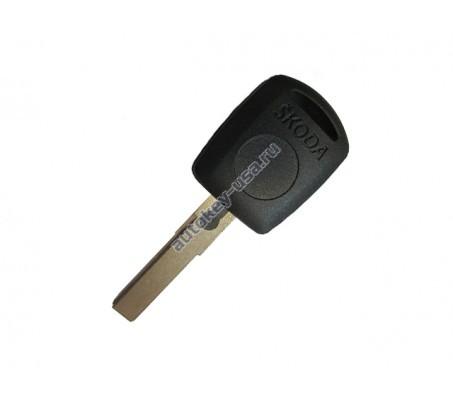 Skoda(Шкода) заготовка ключа с местом под чип