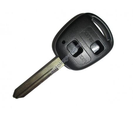 Toyota(Тойота) корпус дистанционного ключа (2 кнопки), лезвие TOY 47