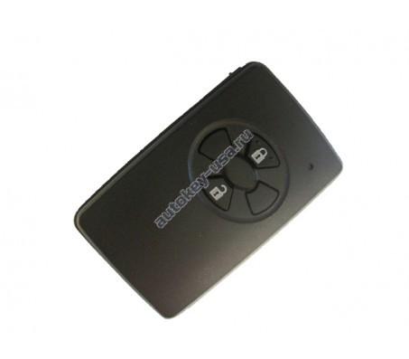 Toyota(Тойота) smart ключ 2 кнопки. Номер: MDL B90EA (Аналог)