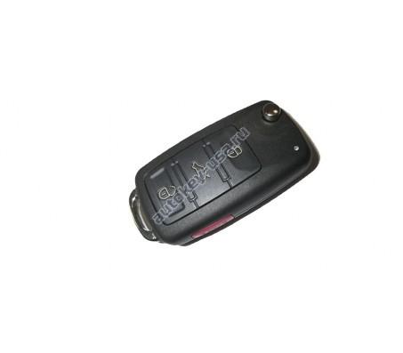 Volkswagen(Фольксваген) выкидной ключ с дистанционным управлением (3 кнопки+panic). Модель TOUAREG. США
