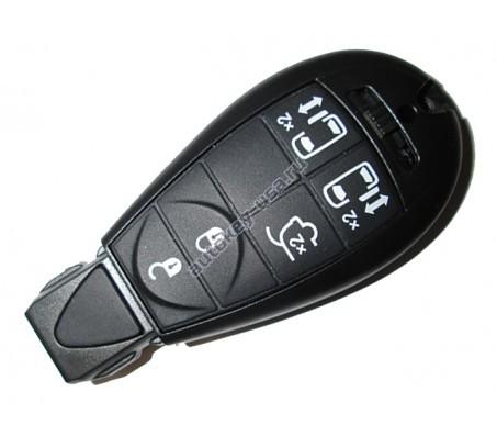 Dodge(Додж) smart ключ (5 кнопок). Для автомобилей из Европы