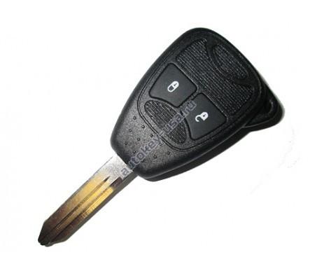 Dodge(Додж) ключ с дистанционным управлением (2 кнопки)