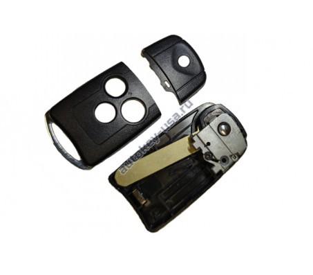 Хонда корпус выкидного ключа (3 кнопки)