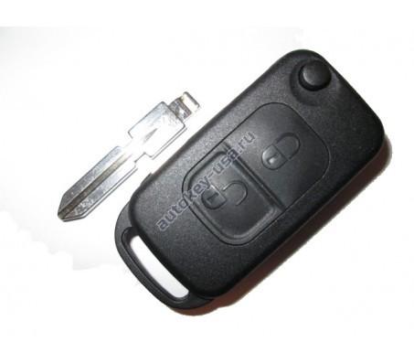 Mercedes(Мерседес) корпус выкидного ключа (2 кнопка)