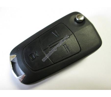Chevrolet(Шевроле) ключ выкидной с дистанционным управлением (3 кнопки).Модели:: CAPTIVA