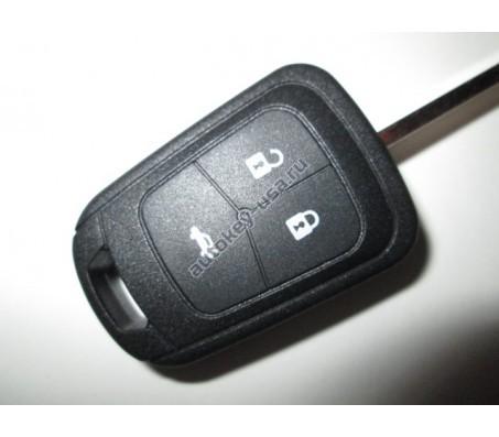 Chevrolet(Шевроле) корпус ключа (3 кнопки)