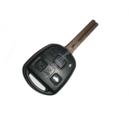 Lexus(Лексус) ключ с дистанционным управлением (3 кнопки). Модели:: IS, LS, GS. Для автомобилей из США