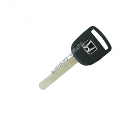 Honda(Хонда) заготовка ключа с чипом (чип 48)