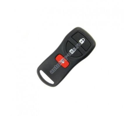 Nissan(Ниссан) брелок дистанционного управления (2 кнопки+panic). Для автомобилей из США. Номер::FCC ID::KBRASTU15