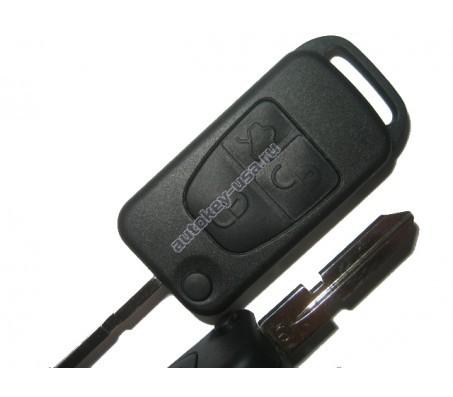 Mercedes(Мерседес) корпус выкидного ключа (3 кнопка)