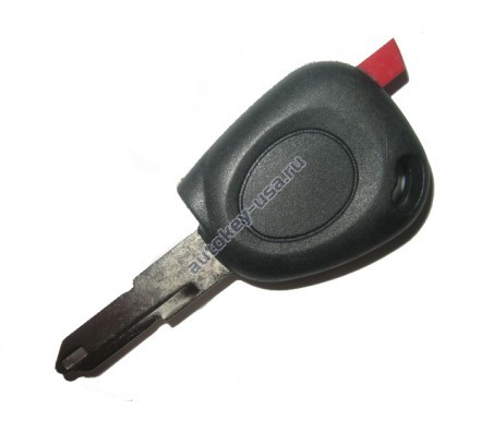 Renault(Рено) заготовка ключа с чипом (чип 46)