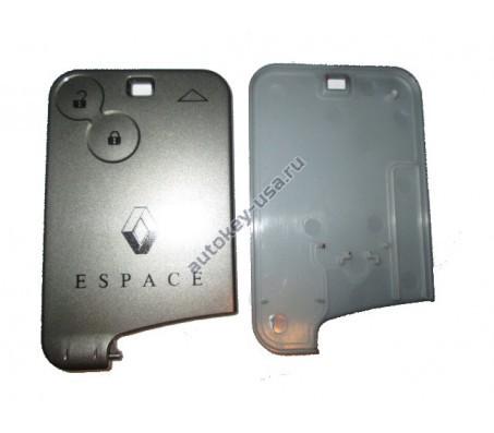 Renault(Рено) Espace корпус smart-карты 2 кнопки