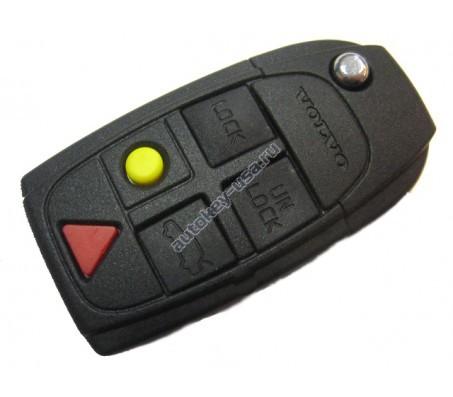 Volvo(Вольво) ключ выкидной с дистанционным управлением. Для автомобилей из Европы