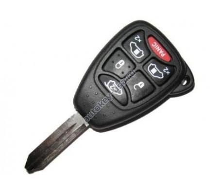 Dodge(Додж) ключ с дистанционным управлением (5 кнопок+panic). GRAND CARAVAN и TOWN & COUNTRY с 2005 г.в