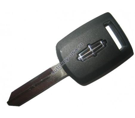 Lincoln(Линкольн) заготовка ключа с чипом (чип 4D-63)