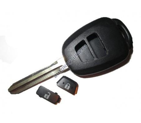 Toyota(Тойота) NEW корпус дистанционного ключа (2 кнопки), лезвие TOY 43