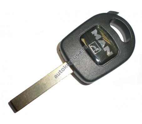 Man(МАН) заготовка ключа с местом под чип