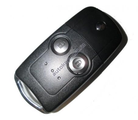 Хонда выкидной ключ с дистанционным управлением (2 кнопки), 433Mhz. Модель CR-V с 2010 по 2013г.в.